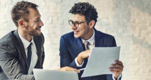 Existenzgründer beraten