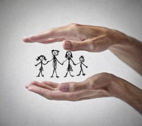 Schutz der Familie